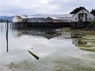 Staré molo přístavu vCordově