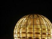 Zlaté sídlo velkých mozků: jedna z budov evropského střediska CERN.