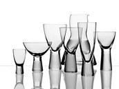 Nápojové sklo, design František Vízner pro BOMMA