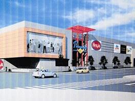 Vizualizace plánovaného centra z roku 2009