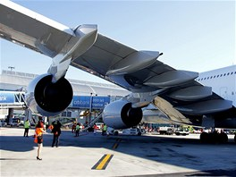 Airbus A380 v Praze