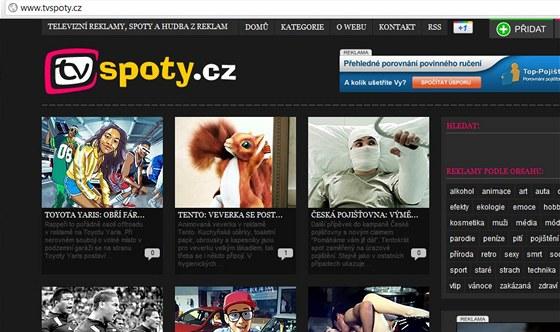 TVspoty.cz