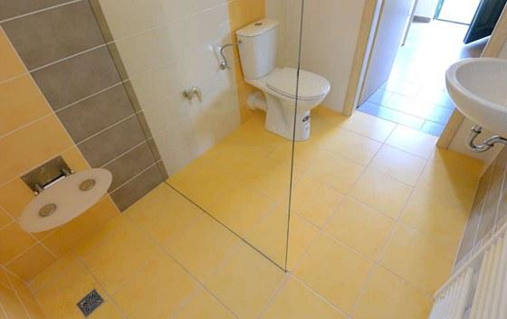 Bezbariérová koupelna nabízí například i vyšší klozetovou mísu.