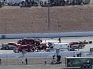 Po tragické havárii Dana Wheldona, který na následky nárazu v Las Vegas