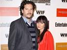 Shannen Doherty se svým třetím manželem Kurtem Iswarienkem