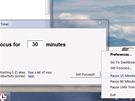 Soustřeďte se - můžete si dočasně aktivovat blokování webů, které jsou označené
