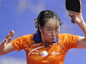 Naturalizovan� nizozemsk� stoln� tenistka Li �iao.