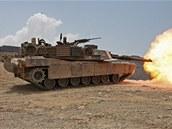 Tank M1Abrams je vyzbrojen stejným 120mm kanonem jako německý Leopard 2.