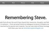 Speciální stránka určená vzkazům pro zesnulého Steva Jobse