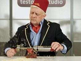 Petr Čtvrtníček v reklamě pro Etu