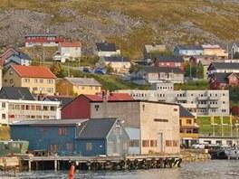 Přístav v Hammerfestu