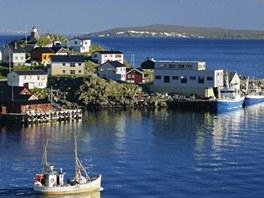 Honningsvag, jeden z nejhlubších přístavů Skandinávie. A taky nejrušnějších.