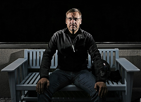 Herec David Mat�sek p�i rozhovoru pro OnaDnes.cz