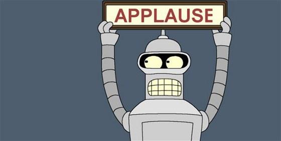Bender ze seriálu Futurama