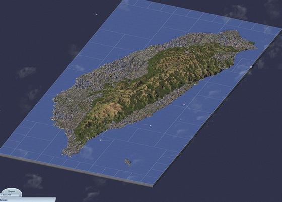 Taiwan v SimCity 4