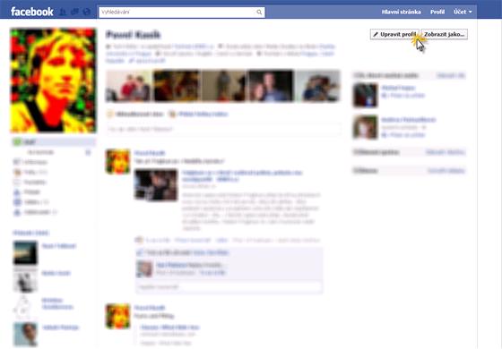 Upravte svůj profil tak, aby zobrazoval, co zobrazovat chcete a komu chcete