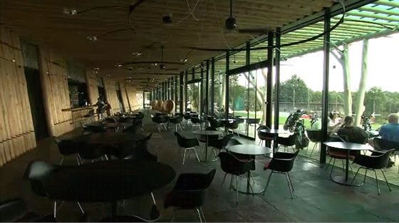 Klubovna golfového klubu Čertovo břemeno