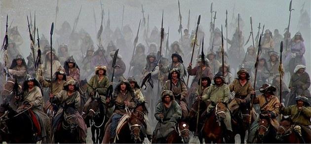 Z filmu Mongol - �ingischán