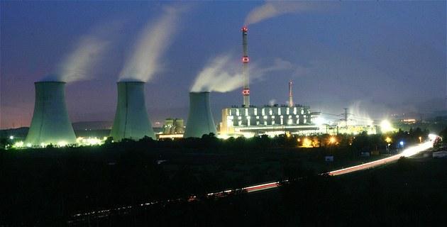 Elektrárna Pruné�ov II je nejmlad�í uhelnou elektrárnou  energetického gigantu