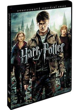 Obal dvojDVD s filmem Harry Potter a Relikvie smrti - část 2