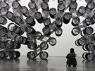 Exponát Forever Bicycles z výstavy Aj Wej-wej nepřítomný