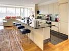 Kuchyňská sestava byla vyrobena společností Siematic, která patří k leaderům