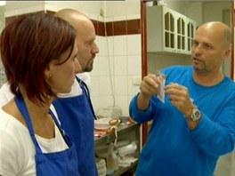 Lišta na objednávky je podle Pohlreicha základem hladkého chodu každé kuchyně.