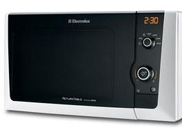 Volně stojící mikrovlnná trouba Electrolux EMS21200W v bílé barvě