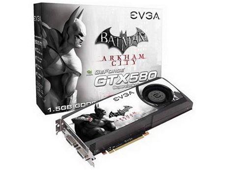 EVGA GeForce GTX 580 Superclocked Special Edition Batman: Arkham City