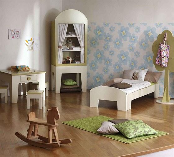 Děti mají rády nábytek, který není nudný, překvapí barvami i tvarem, umí být