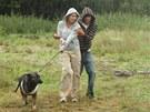 Z filmu Láska je láska - náctiletá varianta lásky v podání Anety Krejčíkové a Macieje Cymorka