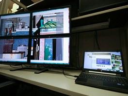 Můžete si pohodlně nastavit, kde chcete který monitor mít, které monitory jsou