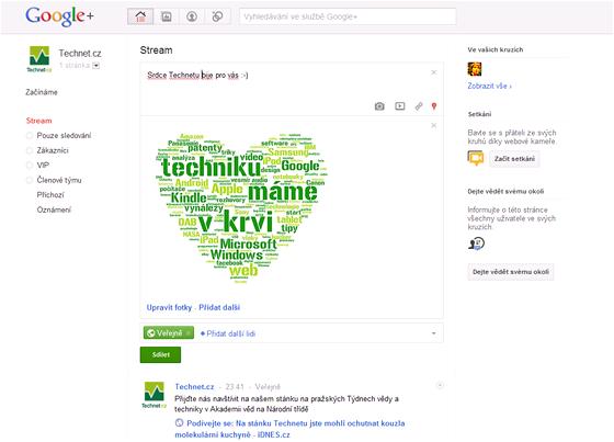 Technet.cz na Google Plus
