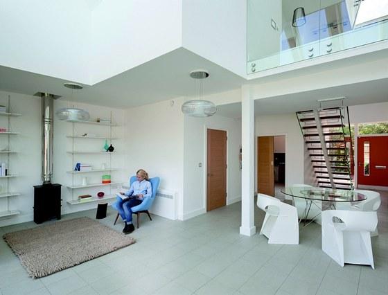Domy CarbonLight Homes  jsou přibližně o  30 % větší než průměrný, tradiční