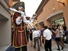 Evropanovi se může čínská Florentia Village zdát maličko kýčovitá.