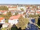 Virtuální prohlídka Litomyšle - pohled na město z věže gymnázia