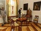 Interiér zrekonstruovaného zámku v Lešné u Valašského Meziříčí, někdejšího
