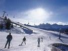 Dolomity, region Plose, údolí Eisack