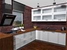 Pohled do kuchyňského koutku