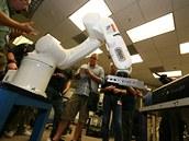 Až nastane vzpoura robotů, tenhle bude opravdu rozlobený.