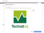 Vytvořit stránku na Google Plus - výběr profilové fotky