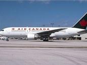 Boeing 767 Gimli Glider. Letoun byl vyřazen z provozu po posledním letu 24.