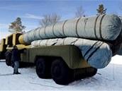 Nafukovací klamný cíl představující PL systém S-300 PMU