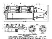 Řez sovětskou kontejnerovou bombou RBK-500 vhodnou na ničení plošných cílů