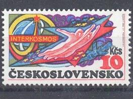 Vzpomínky na dobu papírovou... Poštovní známka z roku 1980 za 10 Kčs s motivem