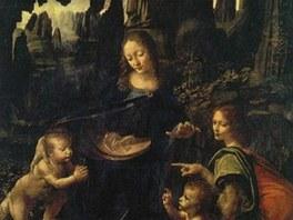 Leonardo da Vinci: Madona ve skalách