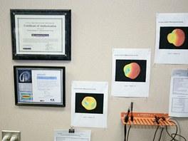 Certifikáty a výsledky měření