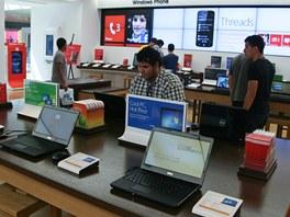 Počítače se softwarem od Microsoftu si můžete vyzkoušet i koupit