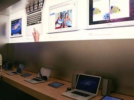 Vystavené jsou i všechny mobilní a desktopové počítače.