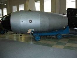 Maketa nejvýkonnější fúzní bomby (termonukleární) bomba vyvíjené jako Izdělije